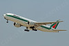 B777P 00004 Boeing 777 Alitalia Airline I-DISE by Tim Wagenknecht