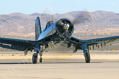 WB - Chance Vought F4U Corsair 00101 Nellis AFB by Tim P Wagenknecht