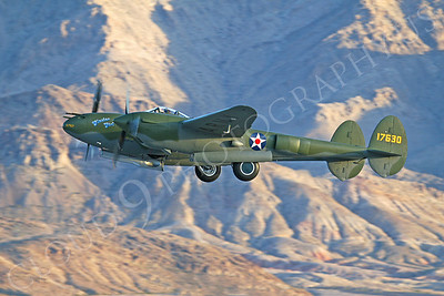 WB - Lockheed P-38 Lightning 00020 Lockheed P-38 Lightning Glacier Girl by Tim P Wagenknecht