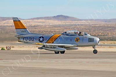 WB - F-86 00101 North American F-86 Sabre USAF FU-012 Nellis AFB by Tim P Wagenknecht
