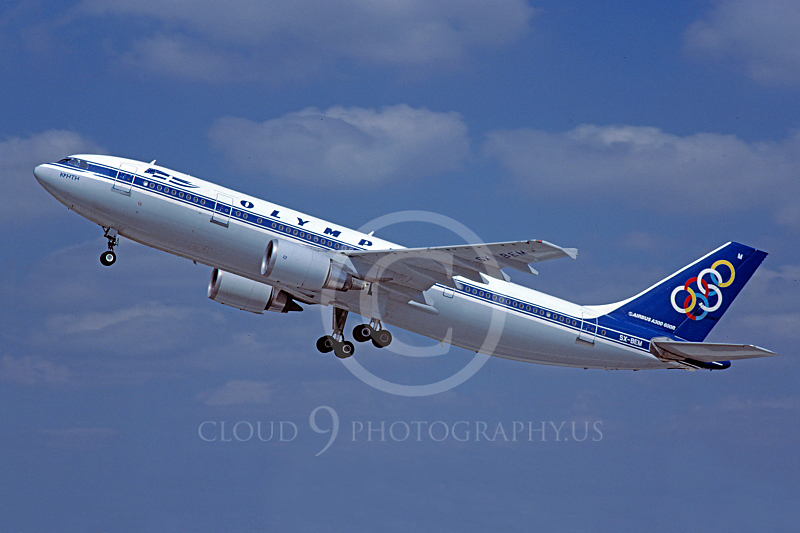 A300 00020 Airbus A300 Olympic SX-BEM 12 August 2002 by Stephen W D Wolf