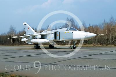 Su-24 00005 Sukhoi Su-24 Fencer Soviet 1992 by Wilfried Zetsche AirDOC Collection