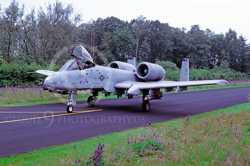 A-10USAF 00011 Fairchild A-10 Thunderbolt II USAF by Wilfried Zetsche