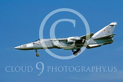 Su-24 00004 Sukhoi Su-24 Fencer Soviet by Wilfried Zetsche AirDOC Collection