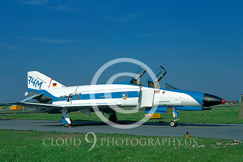 EE-F-4FORG 00014 F-4F German Air Force May 1981 by Wilfred Zetsche from AirDOC Collection