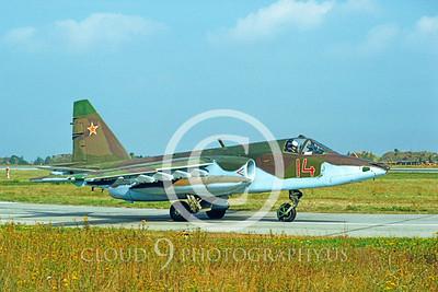 Su-25 00001 Sukhoi Su-25 Frogfoot Soviet 1992 by Wilfried Zetsche via AirDOC Collection