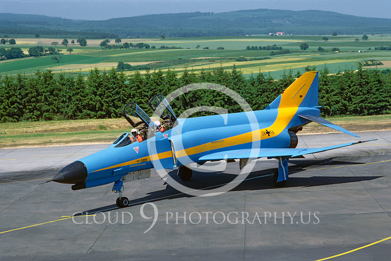 EE-F-4FORG 00016 F-4F German Air Force July 1984 by Wifried Zetsche fom AirDOC Collection