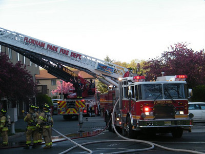 Photos By Paul Anderson  (Photos from a 2nd alarm in FlorhamPark)