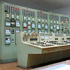 Control panel  of steam turbine at electric power plant