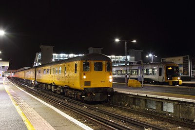 9703+37254 on the 3Q20 Hither Green to Hither Green via Orpington and Brighton at Orpington on the 21st December 2016