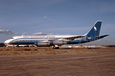Ciskei International Airways Convair 990-30A-5 N8357C (msn 24) (Ports of Call colors) MZJ (Bob Shane - Bruce Drum Collection). Image: 952416.