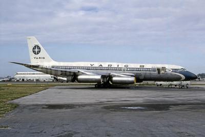 VARIG (1st) Convair 990-30A-8 PP-VJG (msn 13) MIA (Bruce Drum). Image: 105615.