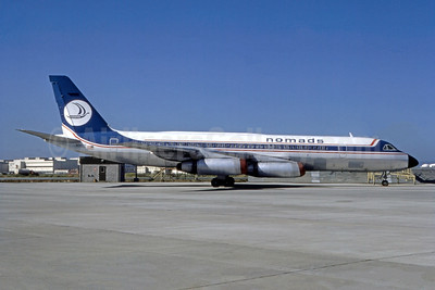 Nomads Travel Club Convair 990-30A-5 N990E (msn 30-10-16) (Bruce Drum Collection). Image: 947469.