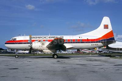 Aerocaribe Convair T-29B (240) XA-HUL (msn 229) MIA (Bruce Drum). Image: 103515.