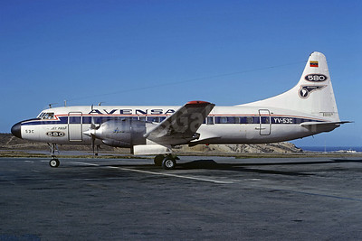 AVENSA Convair 580 YV-53C (msn 161) CCS (Jacques Guillem Collection). Image: 907744.