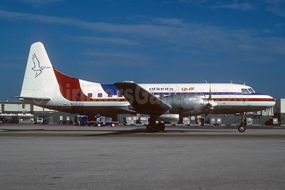 Atlantic Gulf Airlines Convair 580 N5822 (msn 54) MIA (Bruce Drum). Image: 103345.