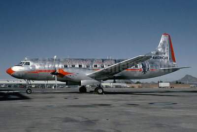 American Airlines Convair 640 N862FW (msn 9) PHX (Christian Volpati Collection). Image: 927570.