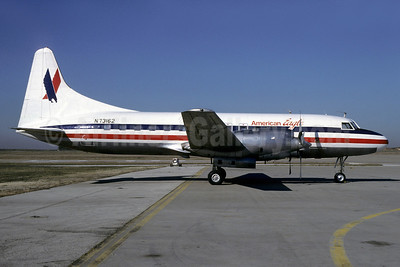 American Eagle Airlines (2nd)-Metro Airlines (Metroflight) Convair 580 N73162 (msn 361) DFW (Keith Armes). Image: 905145.