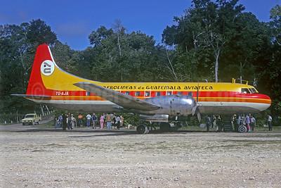 Aviateca-Aerolineas de Guatemala Convair 340-48 TG-AJA (msn 120) TKM (Christian Volpati Collection). 925396.