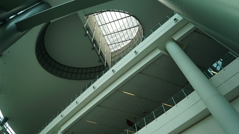 Entrance Lobby Roof View