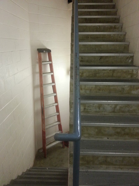 Backstage Stairs