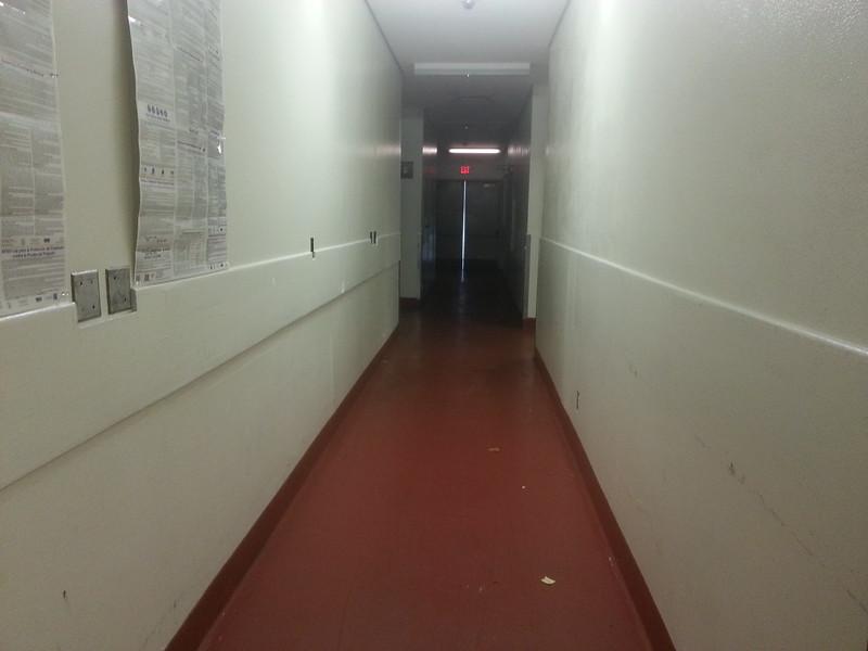 Backstage Hallway