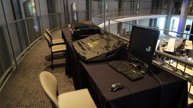 Lecture Hall Control Room