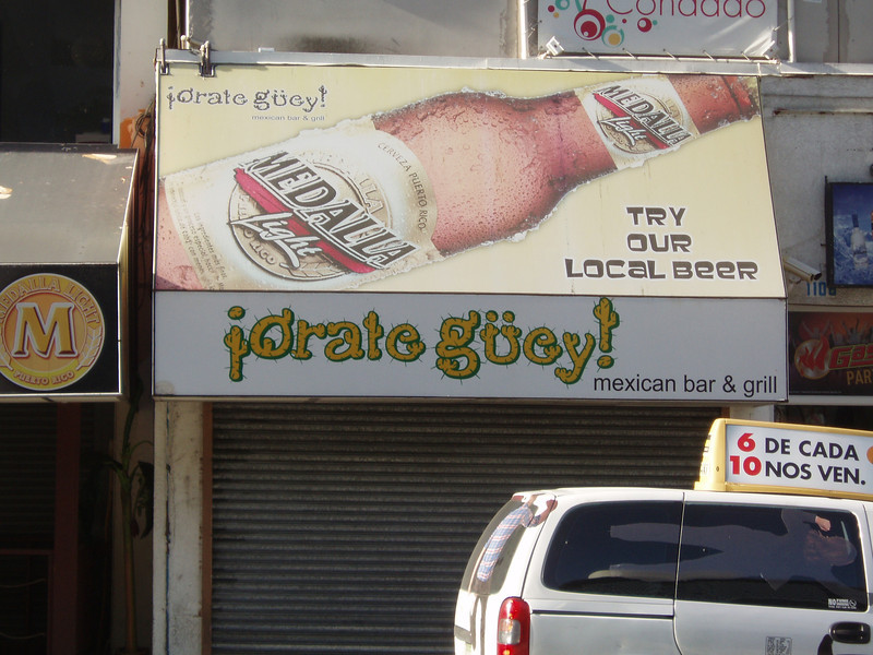 """Orale Güey means something like """"Right on, dude!"""""""