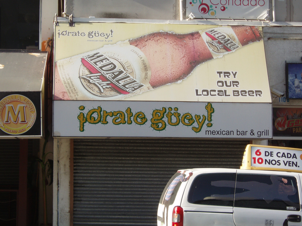 "Orale Güey means something like ""Right on, dude!"""