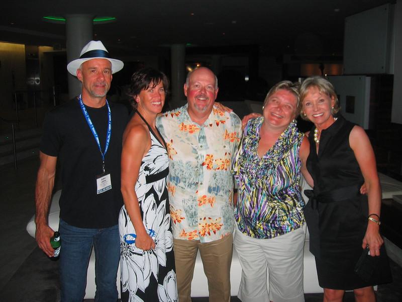 Andrew & Christine Lanning, Mark & Lesa Olive, Carey Kobelin
