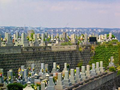Kagoshima cemetery, Japan