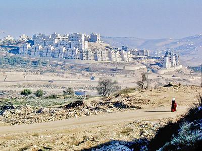 Har Homa settlement between Jerusalem and Bethlehem