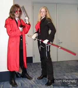 Integra and Alucard (Hellsing)