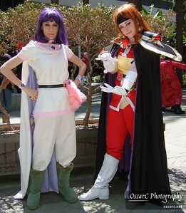Lina Inverse and Amelia (Slayers)