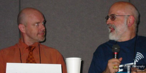 Tad Williams and Terry Pratchett