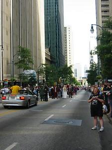 Receding Parade