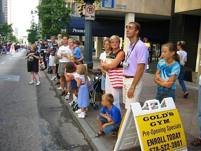 Parade Watching
