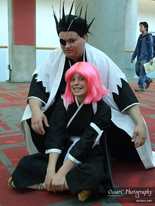 Kenpachi Zaraki and Yachiru Kusajishi (Bleach)