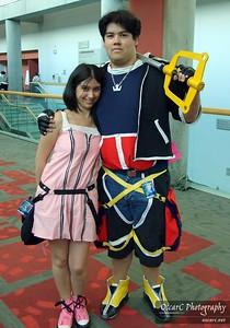 Sora and Kairi (Kingdom Hearts)