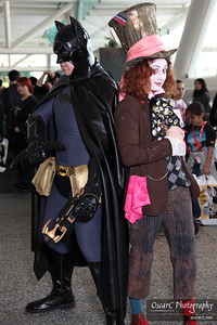 Mad Hatter and Batman