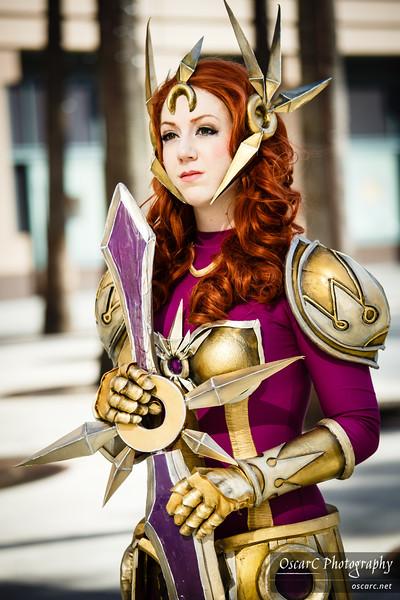 Leona, the Radiant Dawn (Missyeru) from League of Legends