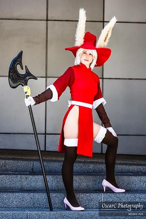 Viera - Red Mage (Katsumiyo) from Final Fantasy Tactics Advance