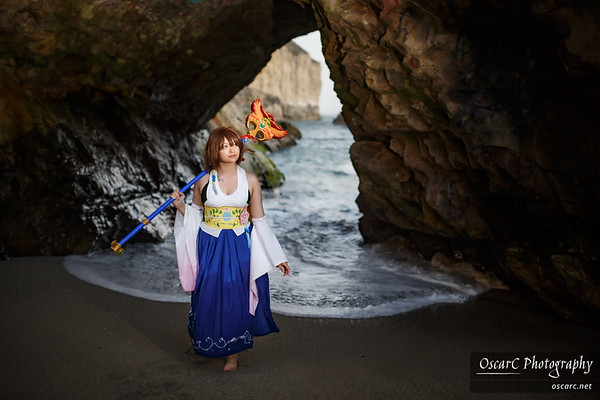 Summoner Yuna from Final Fantasy