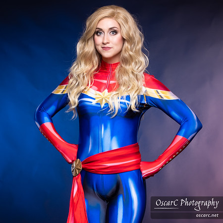 Captain Marvel by November Cosplay