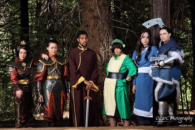 Avatar group photo