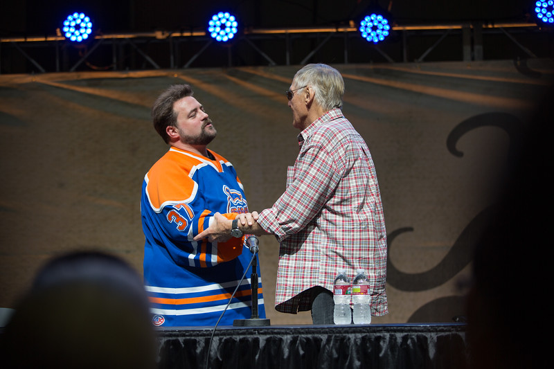 2012 Comikaze Expo - Adam West and Kevin Smith