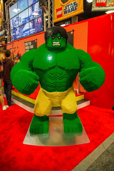 2012 San Diego Comic Con - Exhibit Floor
