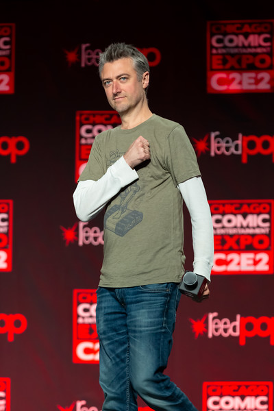 2018 C2E2 - Guardians of the Galaxy with Dave Bautista and Sean Gunn