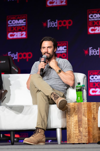 2018 C2E2 - This is Milo Ventimiglia and Justin Hartley