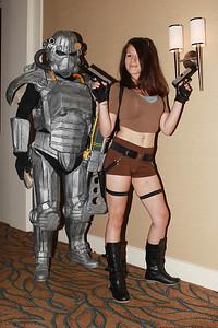 Lone Wanderer & Lara Croft